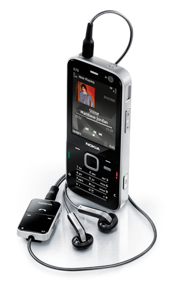 Nokia N78 audio