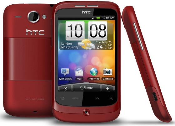 [VENDO] HTC Wildfire Color ROJO Nueva y con Factura!!! @@ 160€  @@