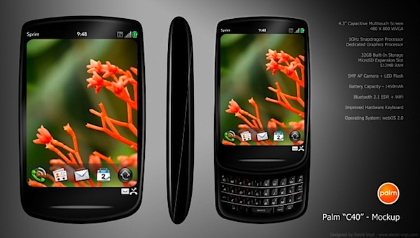 Palm C40 WebOS 2.0 rumor