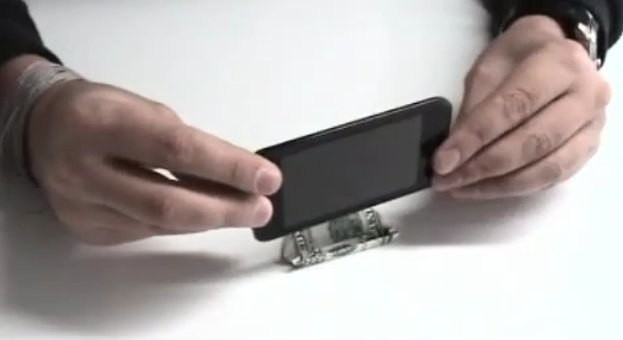 base Iphone 4 con billete