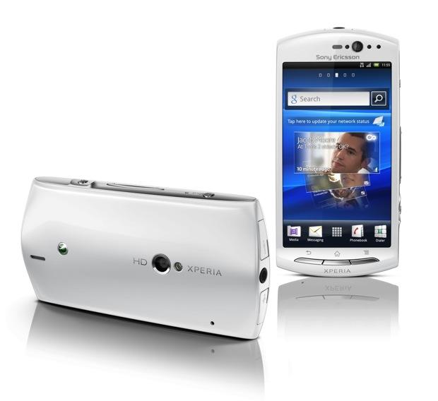 Xperia Neo V White Ayuda móvil nuevo...