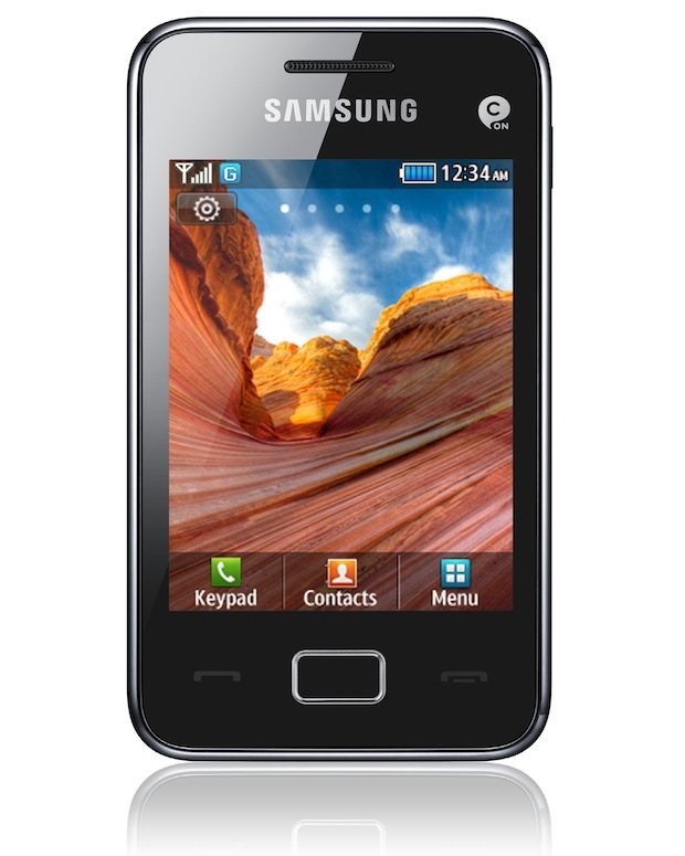 Samsung star 3 frente