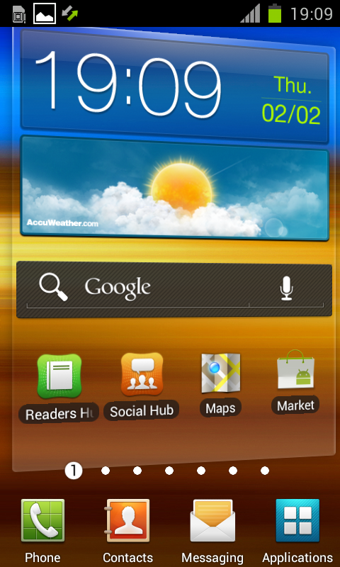 ROM ICS Galaxy S II