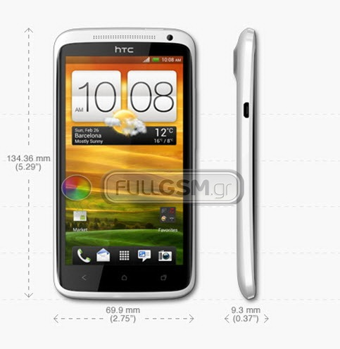 HTC One X filtrado