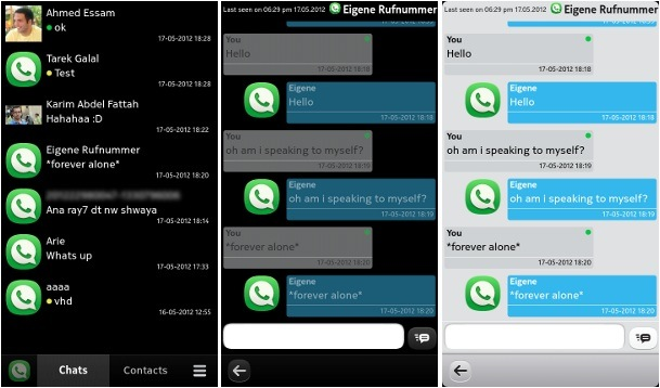 Wazapp, clon de Whatsapp para MeeGo, disponible