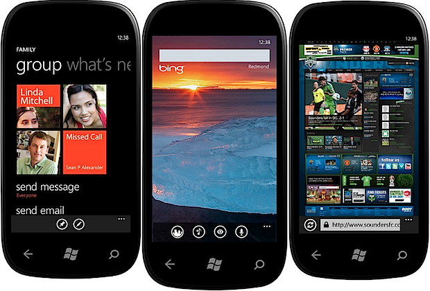 windows phone mango actualizacion