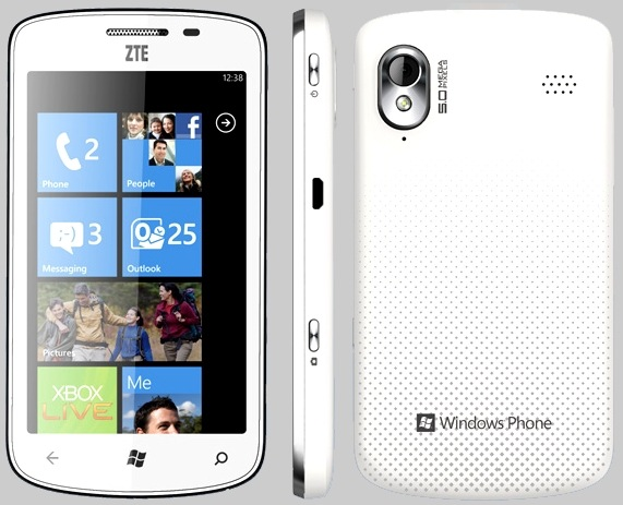 ZTE Tania Windows Phone China