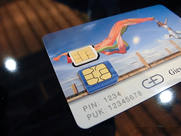 nano-SIM ETSI