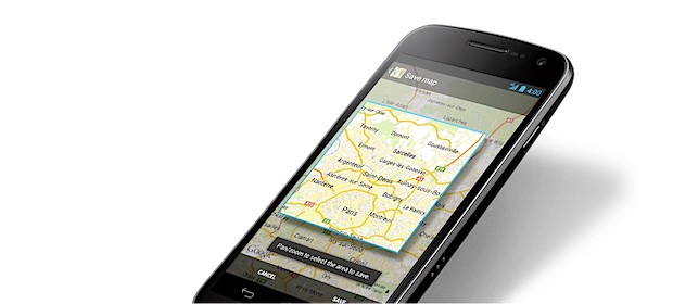 maps android offline