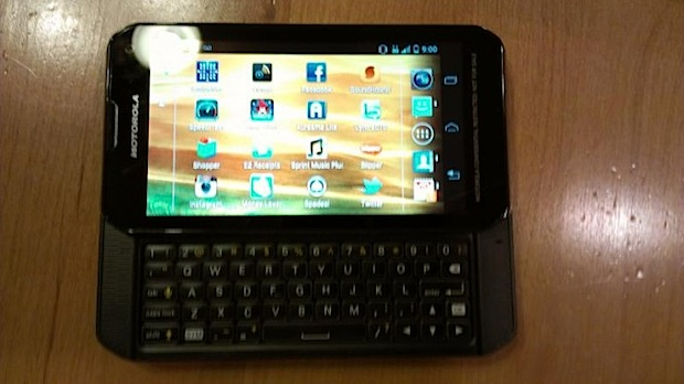 motorola sprint QWERTY