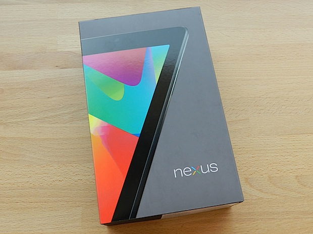 nexus 7 unboxing