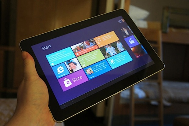 Windows RT Samsung tablet