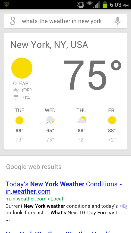 google now  port ICS