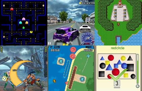 Nokia lanza 22 juegos arcade clásicos para celulares Asha Touch