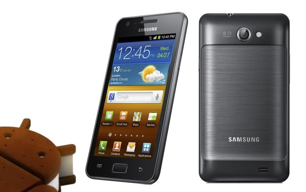 Samsung Galaxy R ICS