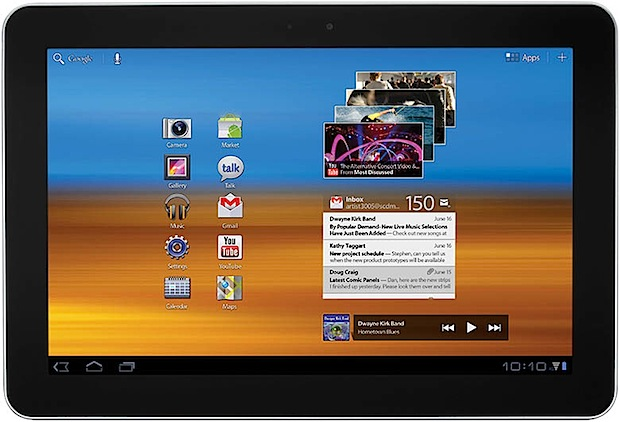 galaxy tab 10.1 ICS