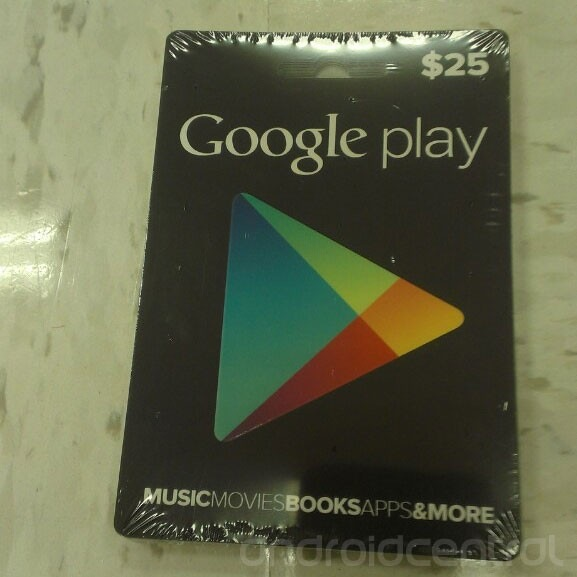 google play tarjetas