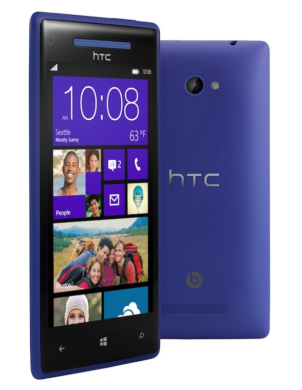 HTC Windows Phone 8X amplificador