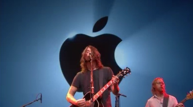 apple foo fighters