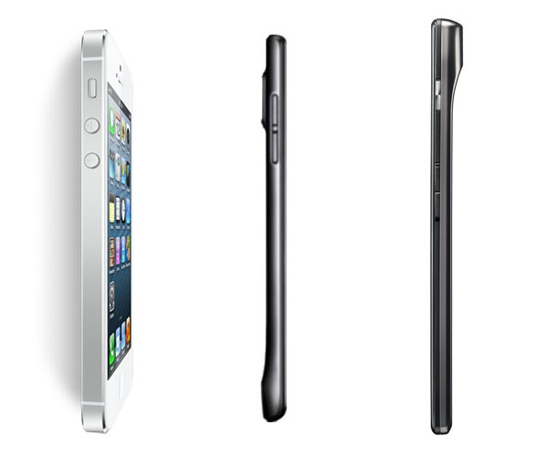 iphone5 vs ascend p1 s vs razr