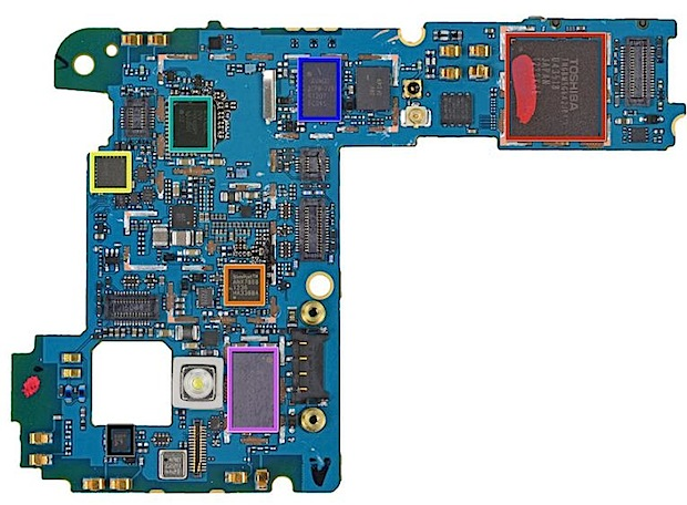 Despiece del nexus 4 revela chip lte for Despiece smart