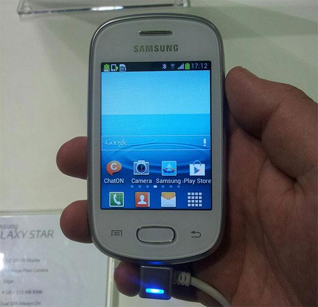 Samsung Galaxy Star y Samsung Galaxy Pocket Neo con Android, oficiales