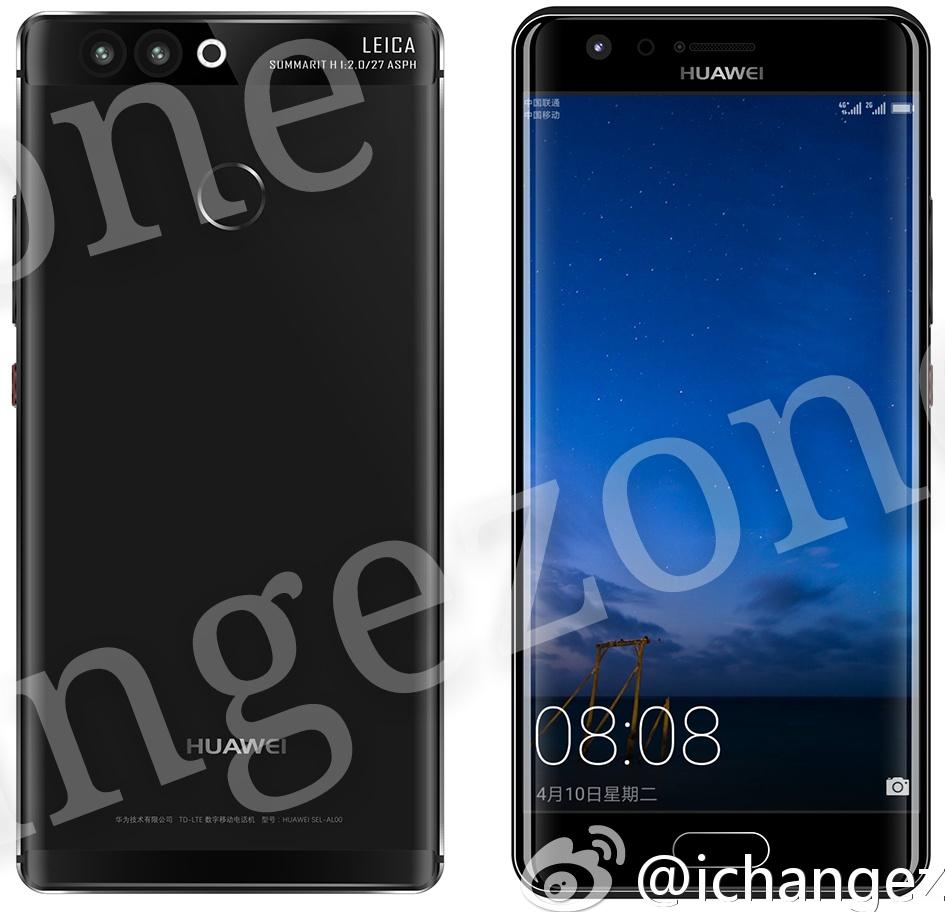 Huawei P10 se filtra en fotos de prensa sugiriendo modelo con pantalla curva