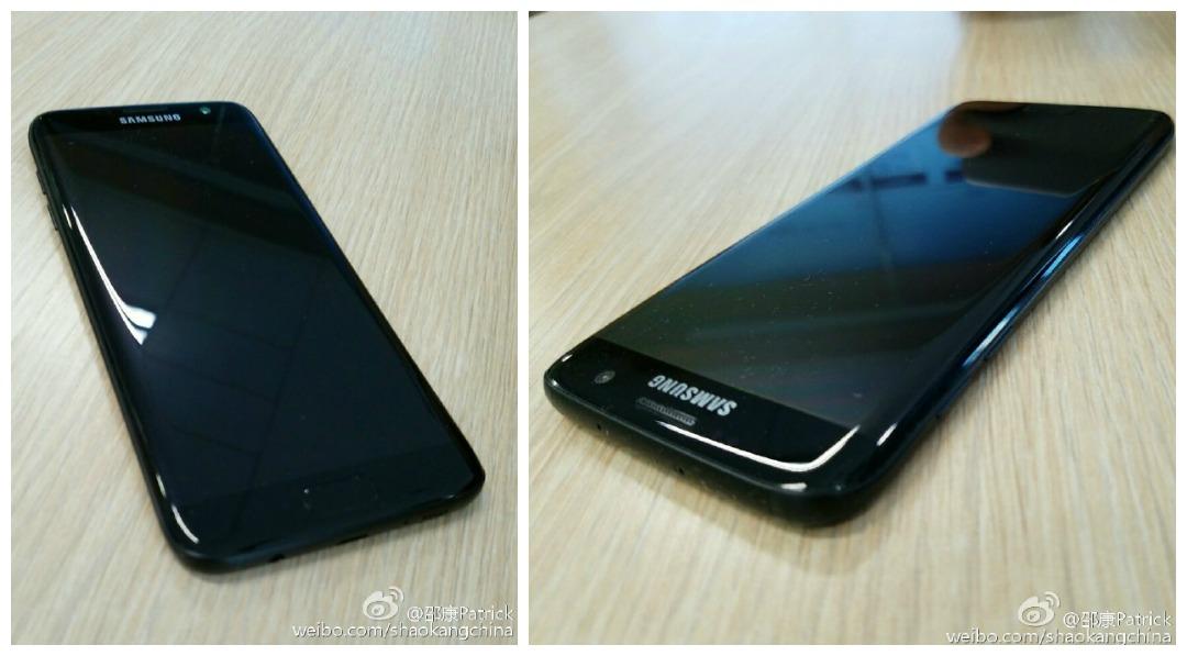 Samsung Galaxy S7 edge en Negro Brillante se filtra en fotos