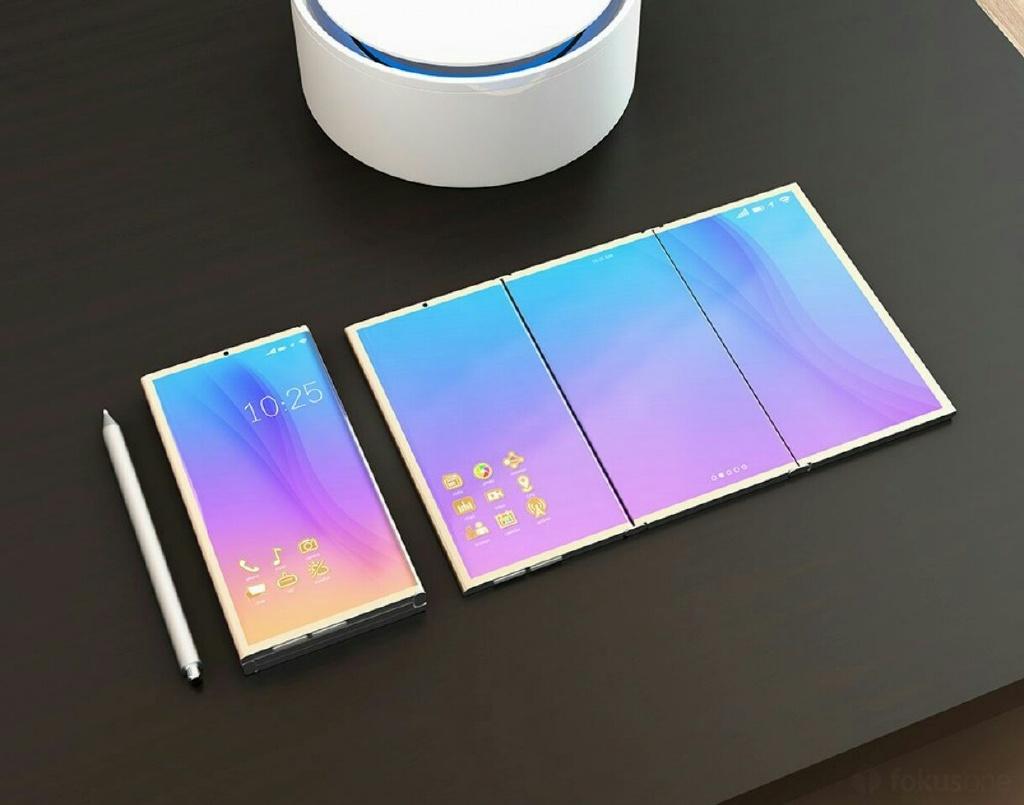 Samsung estará lanzando su smartphone flexible en el 2018