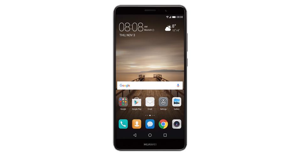 Huawei Mate 9 con 6GB y 128GB de almacenamiento interno aparece listado
