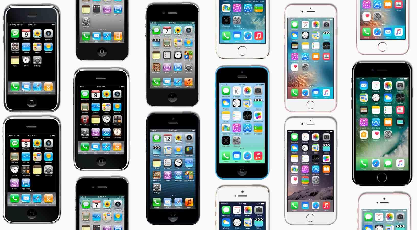 El iPhone cumple 10 años: toda la evolución del producto más rentable del mundo