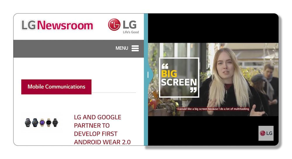 LG G6 adelanta la interfaz UX 6.0 del LG G6
