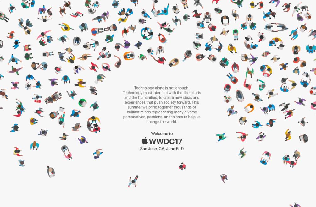 Apple anuncia WWDC 2017 para el 5 de junio