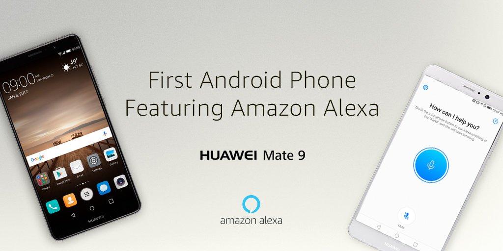 Alexa llegará en forma de app al Huawei Mate 9 en Estados Unidos