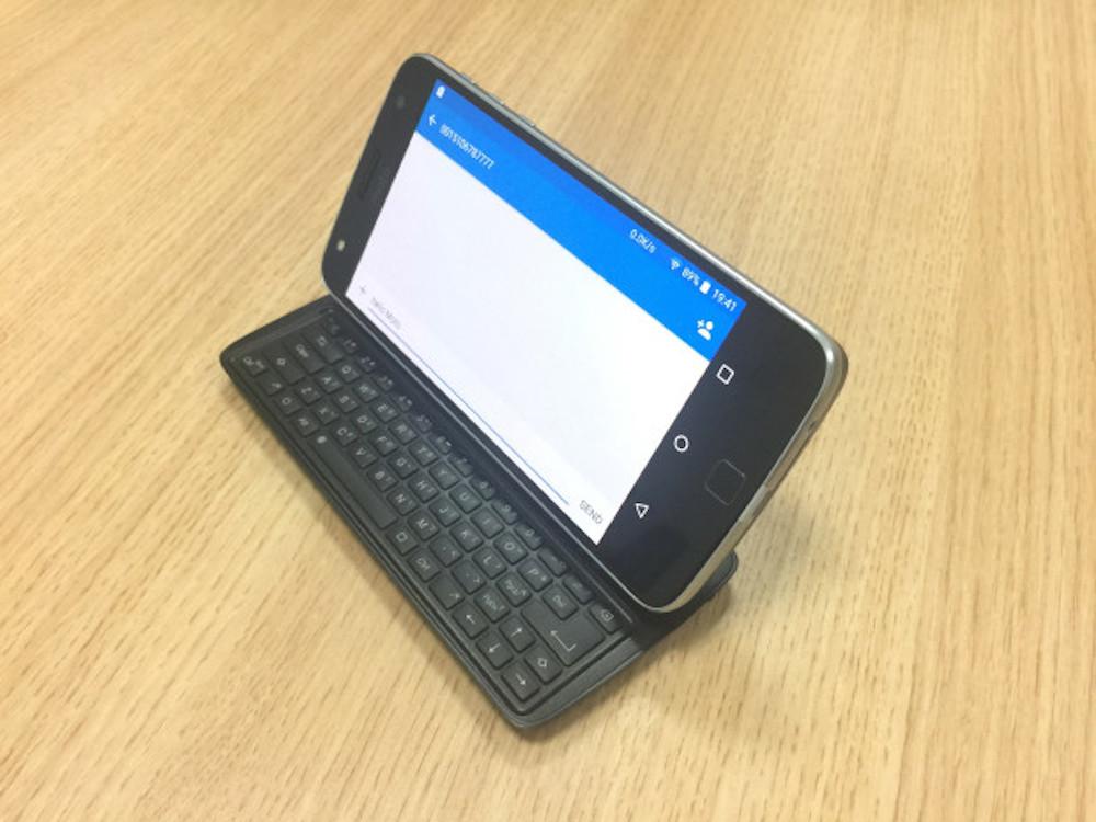 Nuevo Moto Mod de desarrolladores independientes: mod de teclado