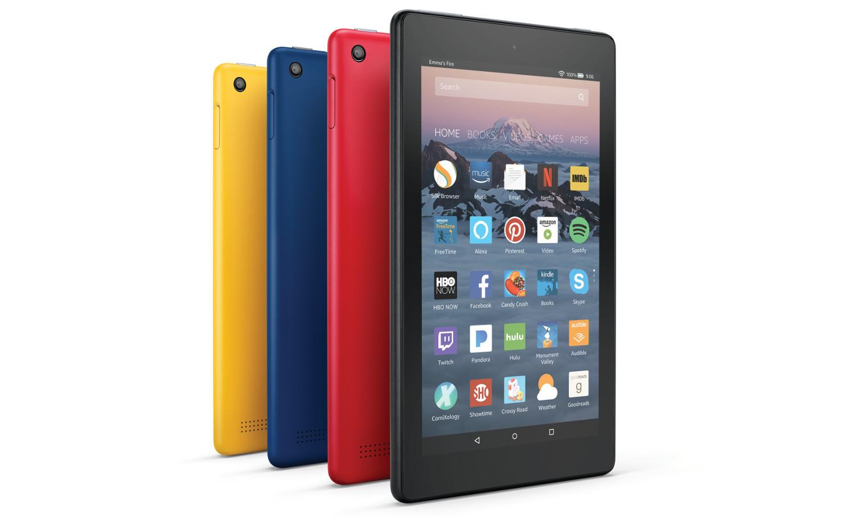 Se lanzan nuevas tablets de Amazon: Fire 7 y Fire HD 8 y Kids Edition para ambas