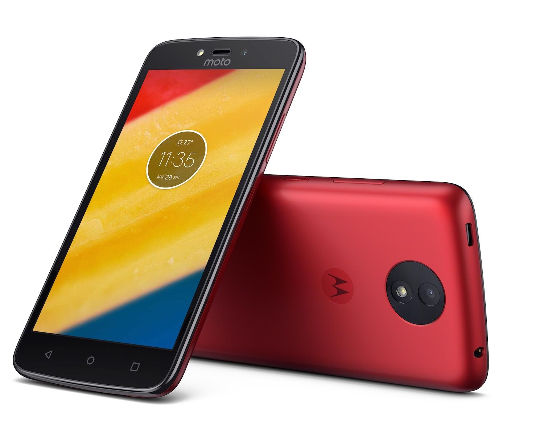 Motorola Moto C y Moto C Plus anunciados oficialmente