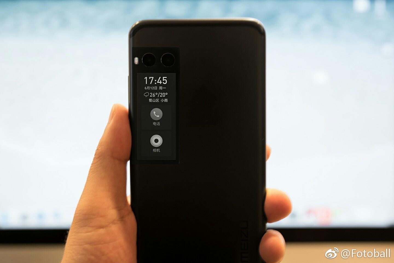 ¿Meizu PRO 7 no tendrá un segundo display de tinta electrónica?