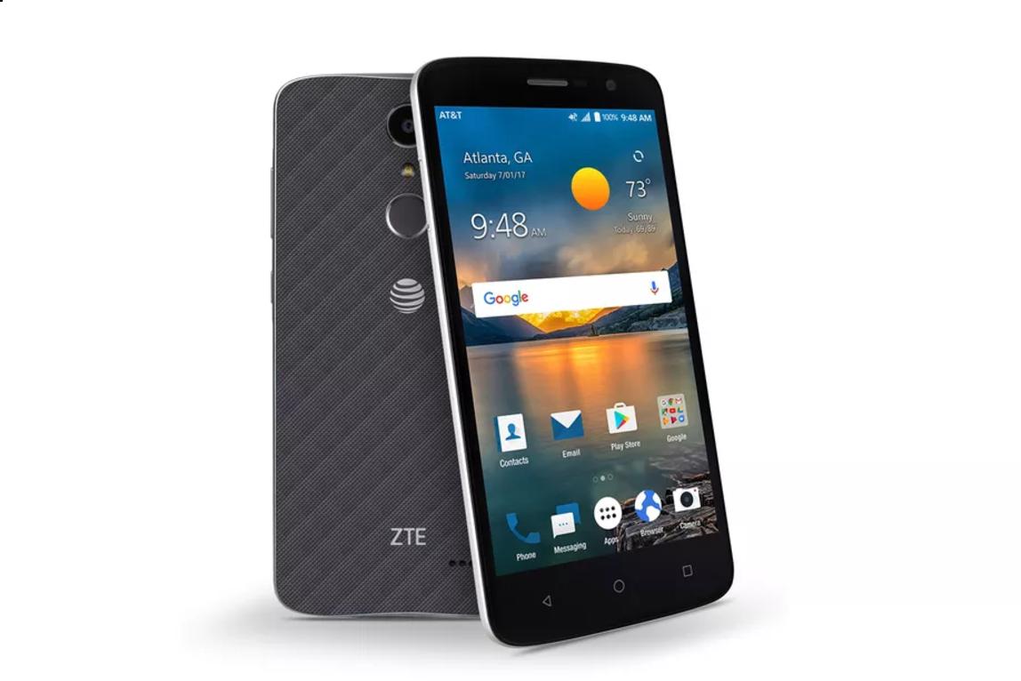 ZTE lanza su económico Blade Spark con sensor de huellas dactilares