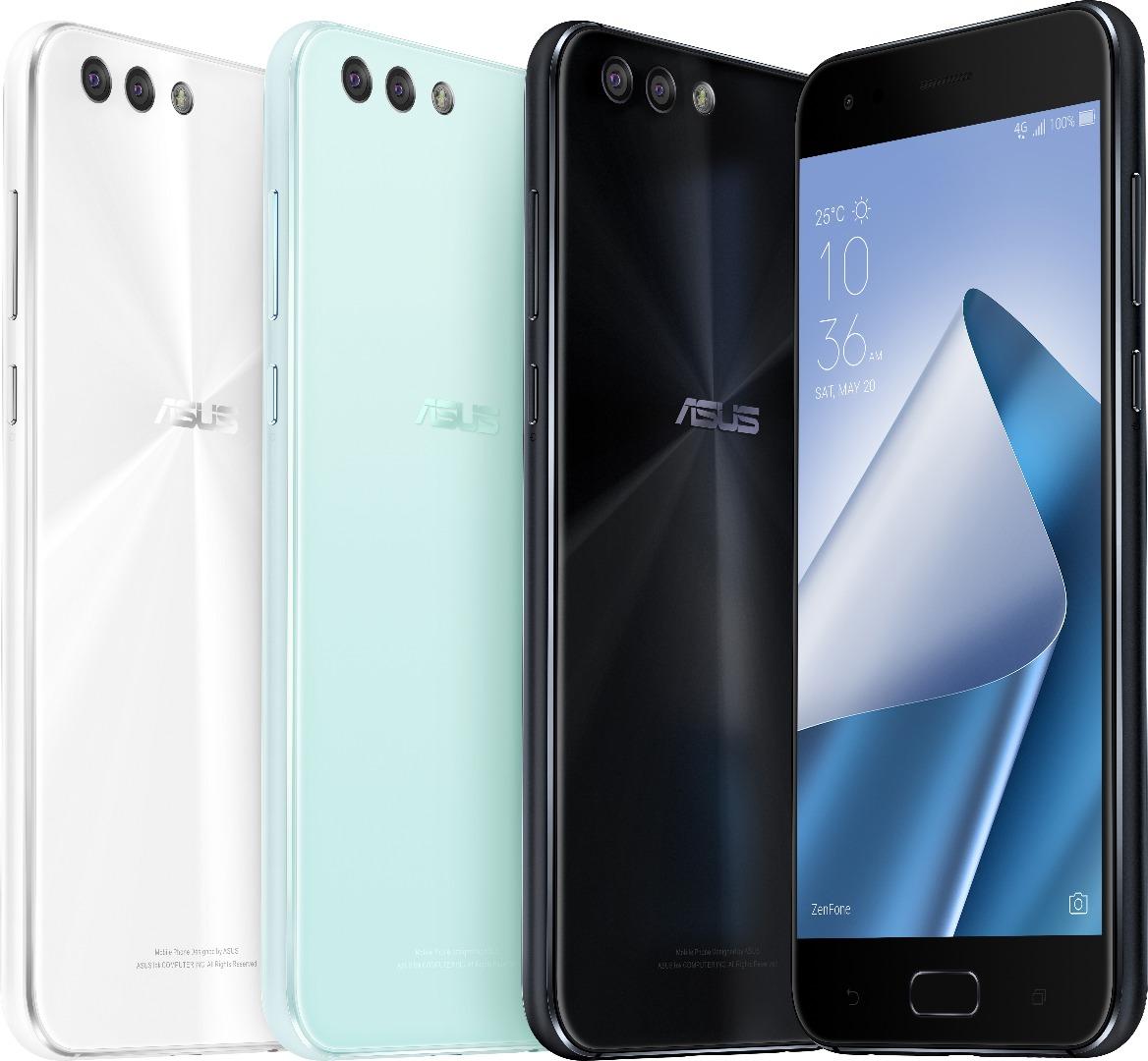 ASUS Zenfone 4 ZE554KL recibiría Android 8.0 Oreo antes de acabado el mes de diciembre