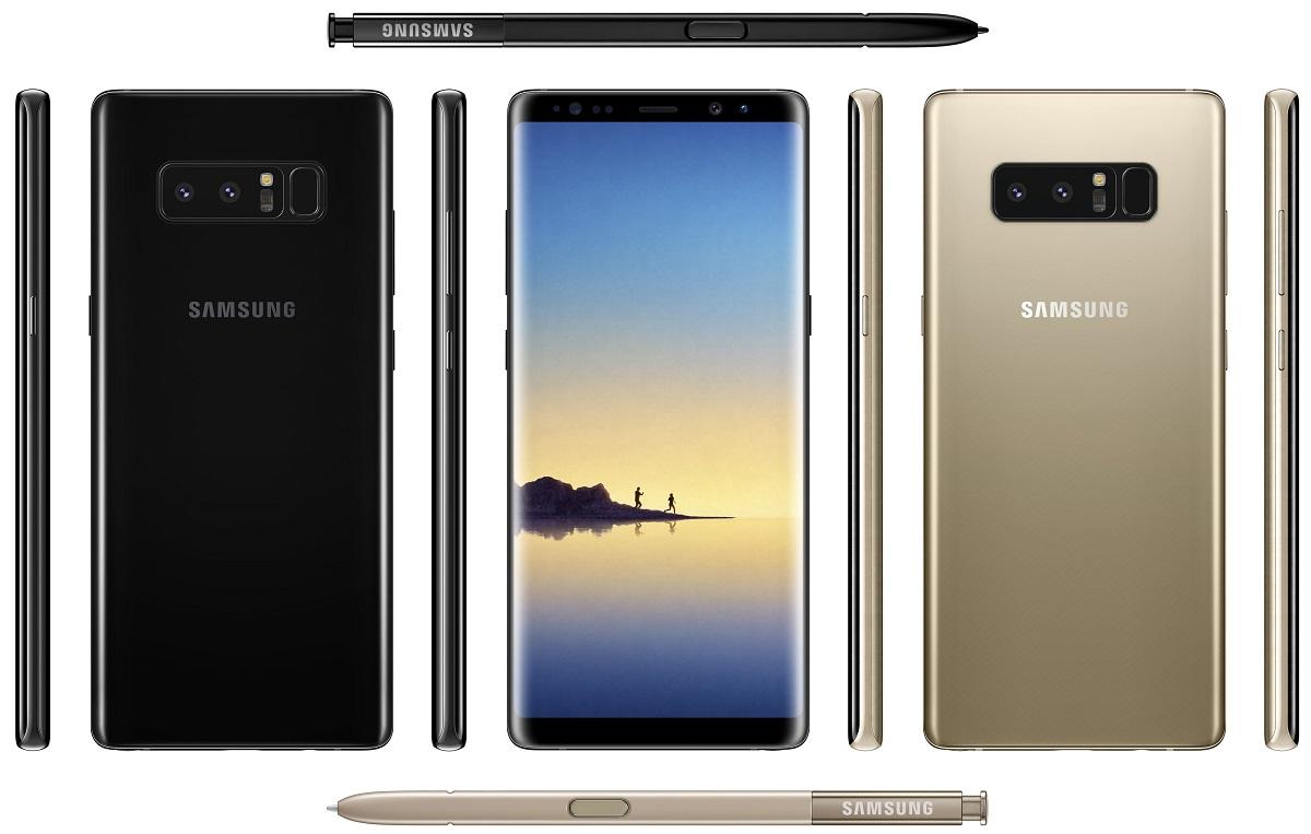 Nuevo render muestra más detalles del Samsung Galaxy Note 8