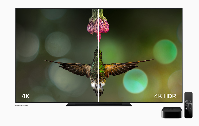 Nuevo dispositivo de televisión de Apple: Apple TV 4K con HDR