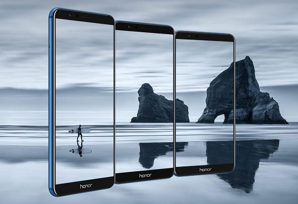 Huawei Honor 7X tiene cámara dual y un display con ratio de aspecto 18:9