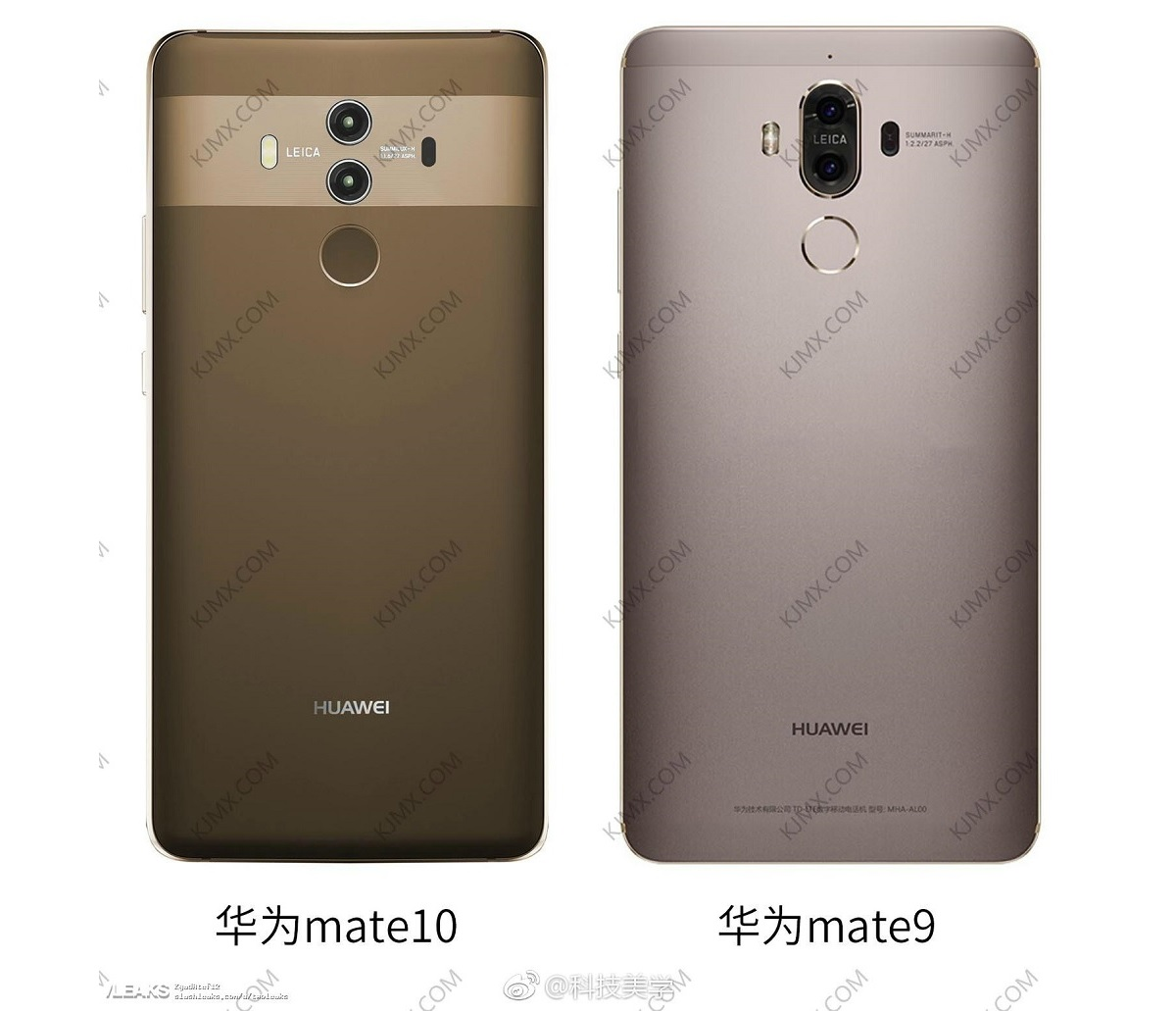 Huawei Mate 10 Pro vs. Huawei Mate 9 Pro: diferencias en sus diseños