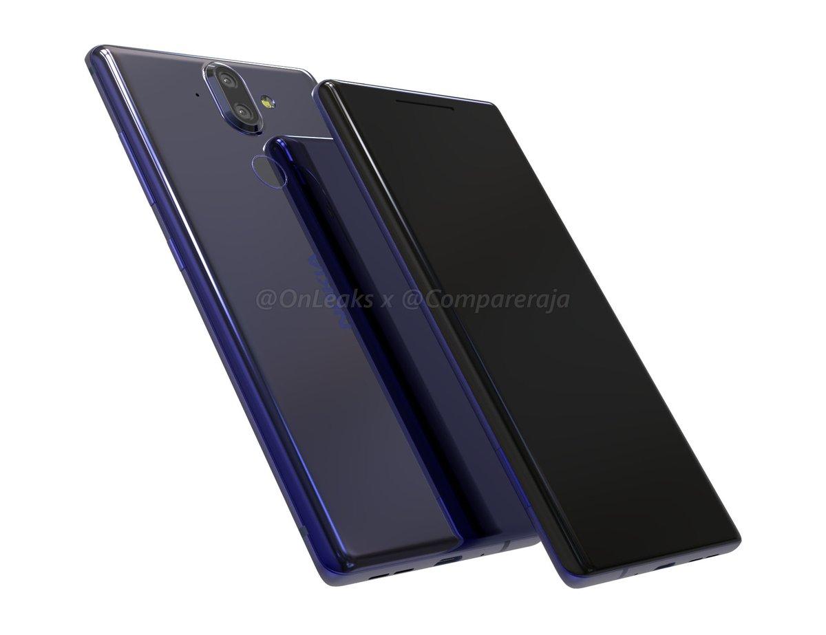 El diseño del Nokia 9 se habría filtrado en su totalidad en forma de video CAD