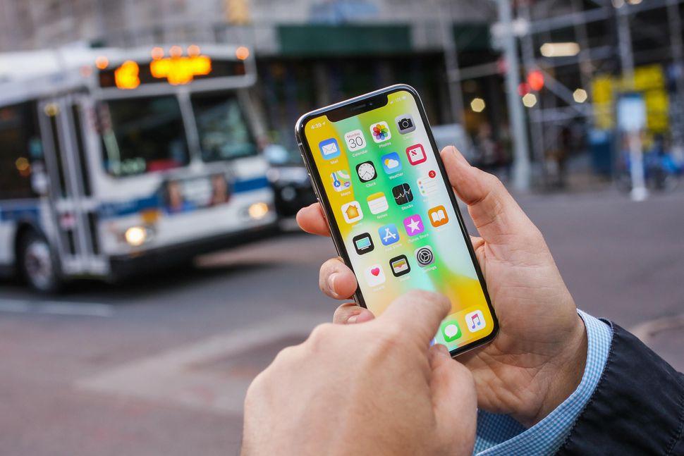 El display del iPhone X se congela cuando se expone a bajas temperaturas
