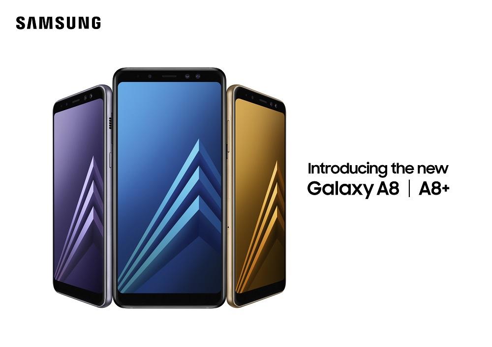Sorpresa: Samsung Galaxy A8 (2018) y Samsung Galaxy A8+(2018) son anunciados oficialmente