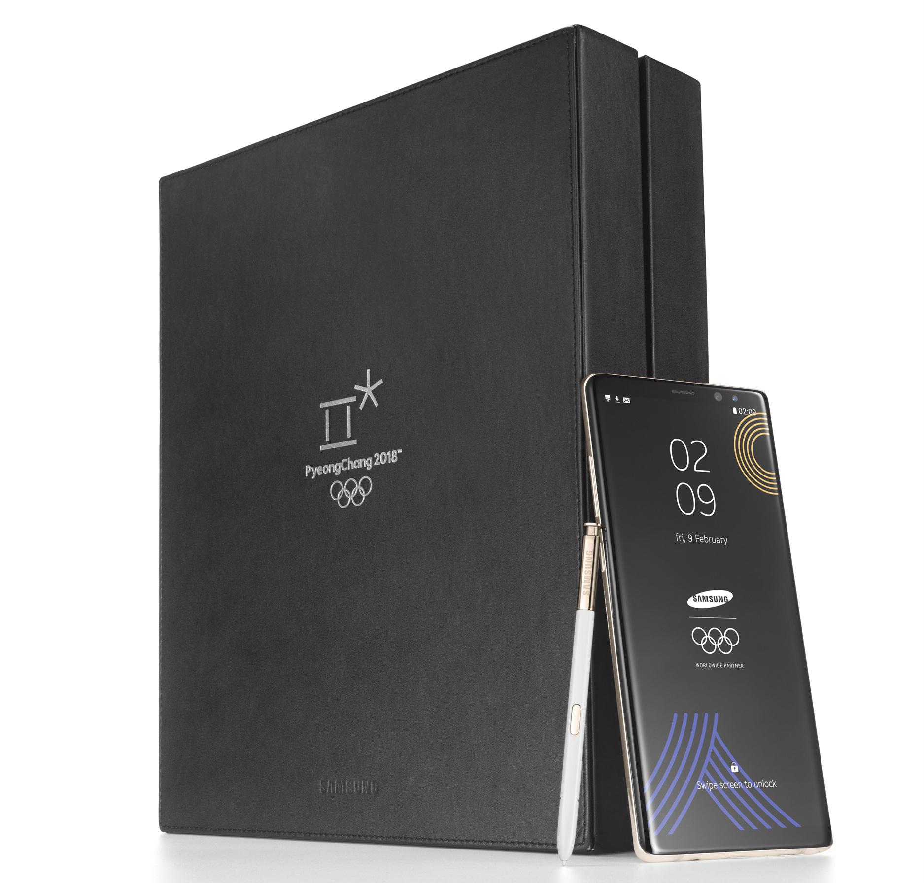 Samsung Galaxy Note 8 edición Juegos Olímpicos 2018 anunciado por Samsung