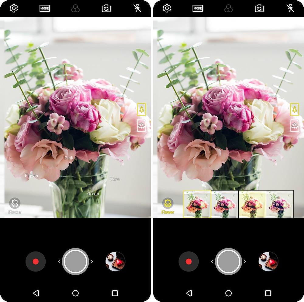 LG detalla funciones IA de cámara para la versión 2018 del LG V30 que anunciará en MWC