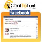 Mensajes SMS en facebook